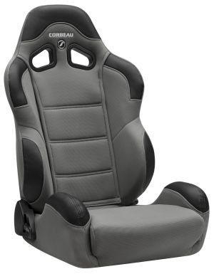 Corbeau CR1 Racing Seat WIDE Grey Cloth 20909W (+$80)