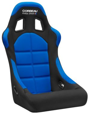Corbeau Forza Sport Black/Blue Cloth 29105FIA