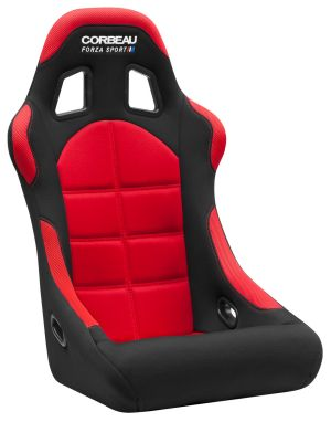 Corbeau Forza Sport Black/Red Cloth 29107FIA