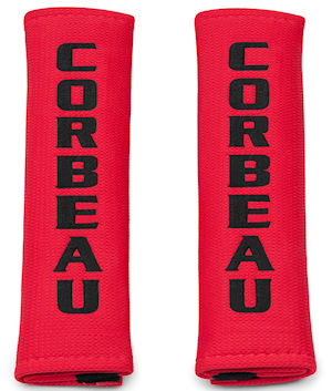 Corbeau Harness Pads 2in. Red 40407