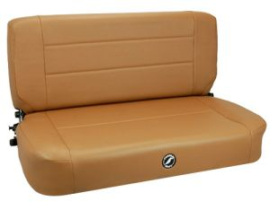 Corbeau Safari Jeep CJ/YJ Back Seat Tan Vinyl 60060
