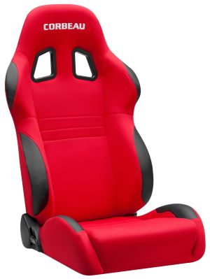 Corbeau A4 Racing Seat Red Cloth 60097