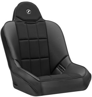 Corbeau Baja SS Racing Seat Black Vinyl w/Black Cloth Center 65402B