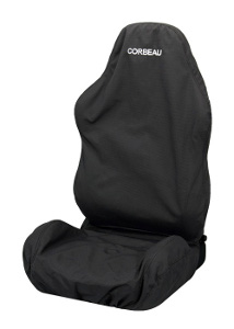 Corbeau Reclining Seat Cover (Except Moab) Black TR6701R