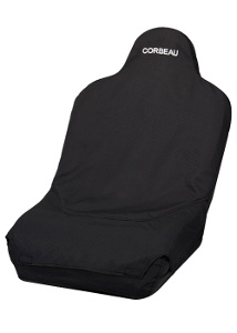 Corbeau Baja Ultra Wide Seat Cover Black TR69401WTR