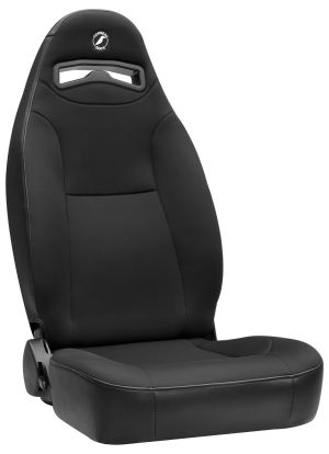 Corbeau Moab Racing Seat Black Vinyl/Cloth 70011 (+$15)