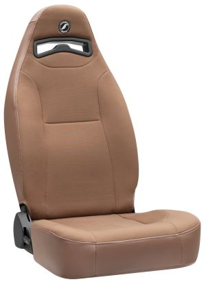 Corbeau Moab Racing Seat Tan Vinyl/Cloth 70066 (+$30)