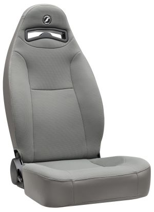 Corbeau Moab Racing Seat Grey Vinyl/Cloth 70099 (+$30)