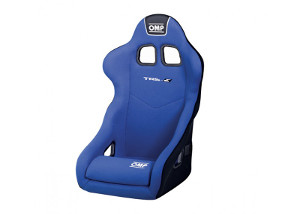 OMP TRS-E: Racing Seat Blue/White 741EBLU