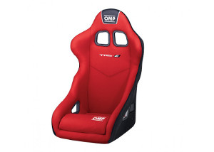 OMP TRS-E: Racing Seat Red/White 741ER