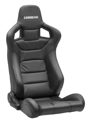Corbeau Sportline RRS Black Leather 74901L (+$365)