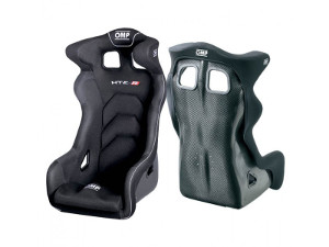 OMP HTE-R Carbon Racing Seat Black 768E (+$1590)