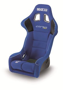 Sparco Corsa Racing Seat Blue Cloth 887FAZ