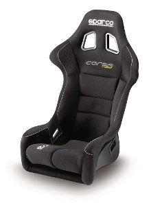 Sparco Corsa Racing Seat Black Cloth 887FNR