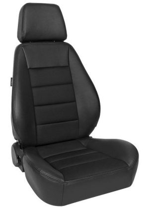 Corbeau Sport Racing Seat Black Vinyl/Cloth 90011 (+$10)