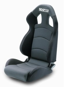 Sparco Chrono Road Racing Seat Medium Black/Gray 00959CRGMGRNR **959CRGMGRNR