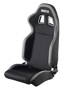 Sparco R100 Racing Seat Black/Grey 00961NRGR **961NRGR