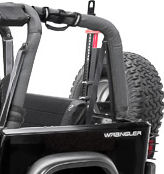 Corbeau Jeep CJ & Jeep YJ Rear Seat Covers