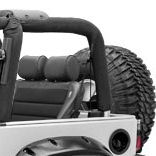 Corbeau Baja Bench Rear Jeep Seat
