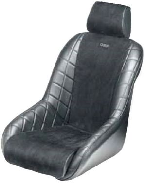 Brands Hatch Racing Seat Black HA757E **ha757e