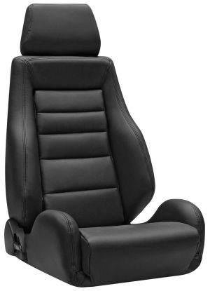 Corbeau GTS II Racing Seat Black Leather L20301 (+$206) **L20301
