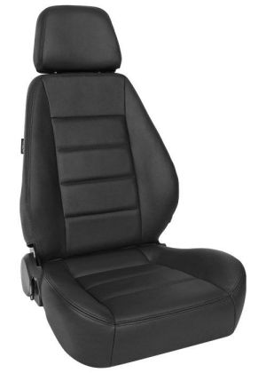 Corbeau Sport Racing Seat Black Leather L90001 (+$200) **L90001