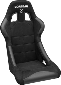 Corbeau Forza Racing Seat Black Micro-Suede S29101 (+$50) **S29101