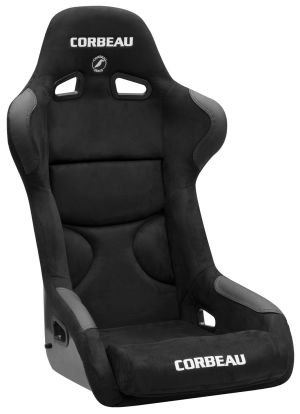 Corbeau FX1 Pro Racing Seat Black Microsuede S29501P (+$60) **S29501P