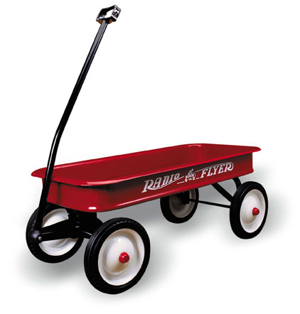 #18 Classic Red Wagon