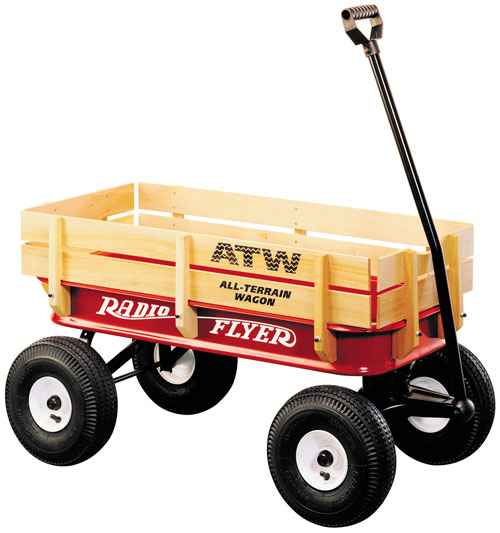 #32 All-Terrain Steel & Wood Wagon