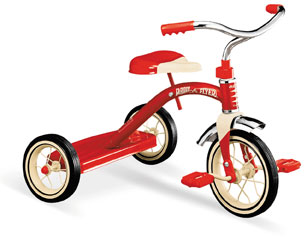Click Here for More information or to Buy online   #34 Classic Red Tricycle