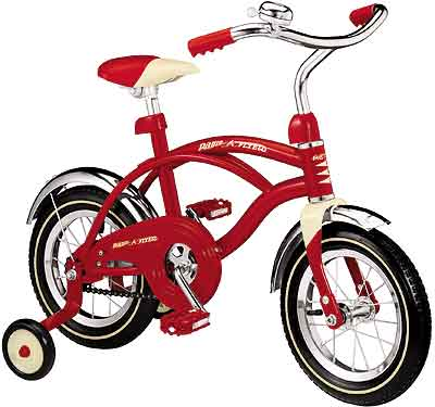 #37 Classic Red Bicycle