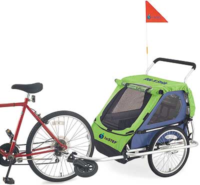 Click Here for More information or to Buy online  Ride 'N Stride Bike Trailer