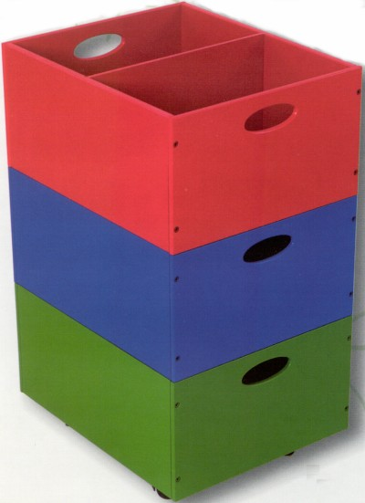 Click Here for More information or to Buy online   Primary Color Storage Bins