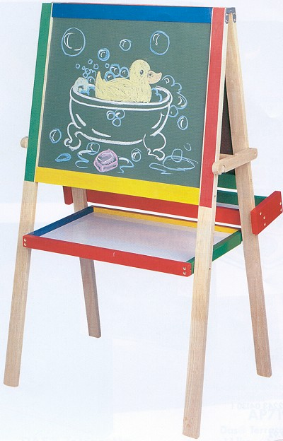Click Here for More information or to Buy online Double Sided Deluxe Wood Easel