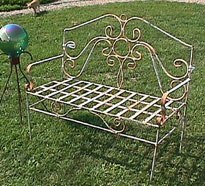 antique garden benches