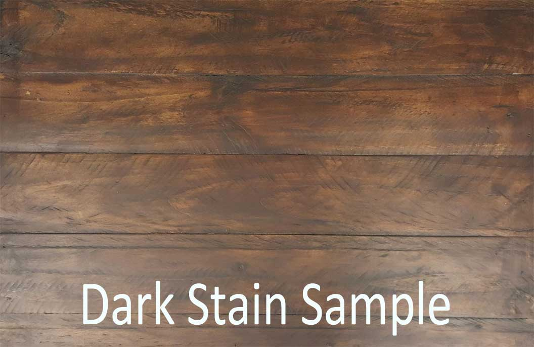 Dark Stain Sample