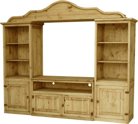 Entertainment Center Rustic Mexican Furniture