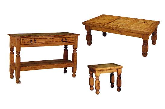 Living Room Tables Rustic Mexican Furniture