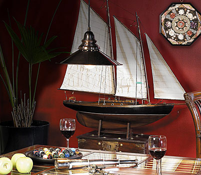 Nautical Boat Models for home decor