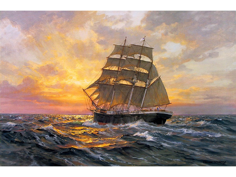 Limited Edition Nautical Prints by Charles Vickery