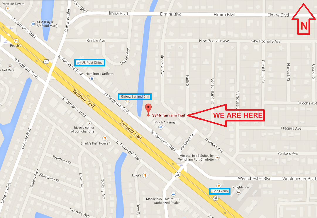 Street Map Port Charlotte Florida.Our New Port Charlotte Fl Retail Store Location