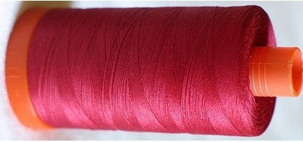 aurifil cotton mako 50wt 1300m color 1103 rusty red list price 1399 sale price 1029 check to select - Aurifil Thread Color Chart