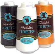 Maxi-Lock Stretch Serger Thread.
