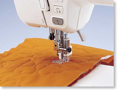 Quilting FreeMotion Foot For Brother Baby Lock LowShank Inspiration Brother Sewing Machine Quilting