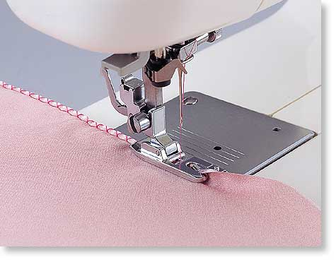 Picot Foot For Edging On Knit Fabrics For Brother Baby Lock Snap Enchanting Picot Stitch Sewing Machine