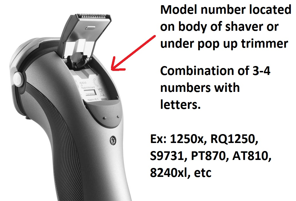 Norelco Shaver ID
