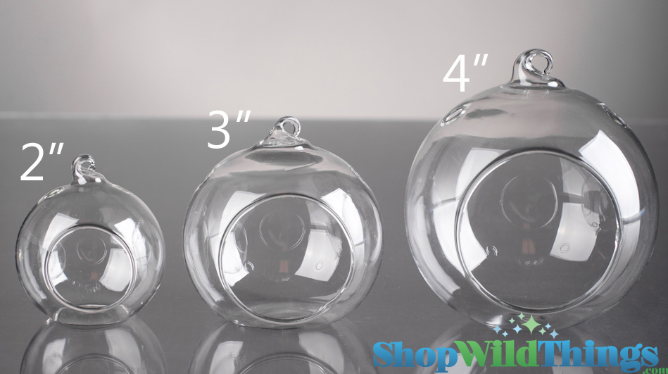 Hanging Round Glass Candle Holders Designs