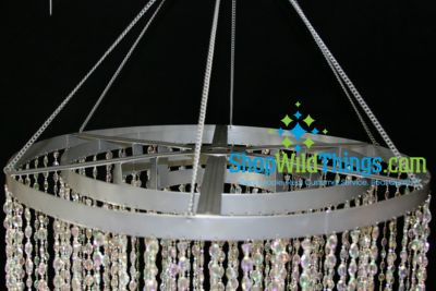 Tier Acrylic Crystal Chandelier ShopWildThings - Chandelier acrylic crystals