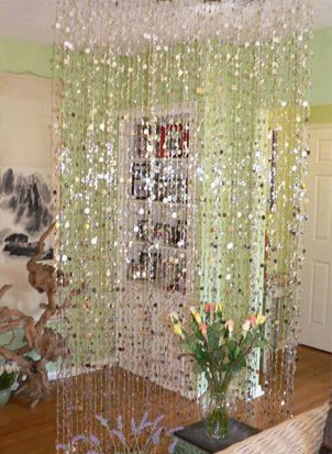 We Recommend Hanging The Curtain In Place Full Length Before Removing Ties From Strands To Store Your Beaded Curtains Tie Into